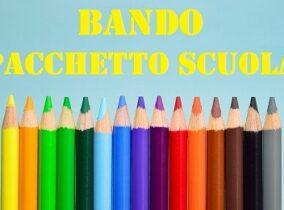 """BANDO COMUNE DI CASTIGLION FIBOCCHI PER """"PACCHETTO SCUOLA"""" ANNO SCOLASTICO 2020/2021"""
